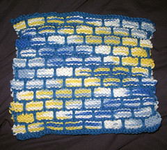 Ballband washcloth for Grandma