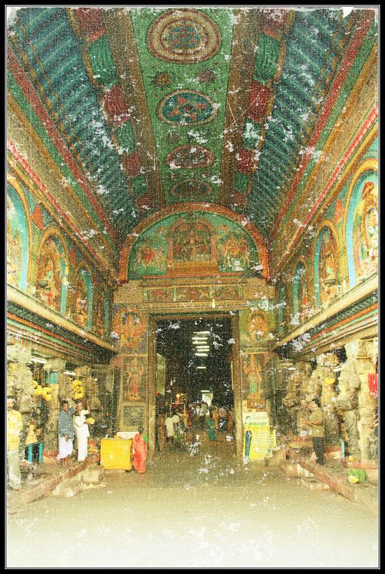 Madurai : Meenakshi Kovil Ceilling
