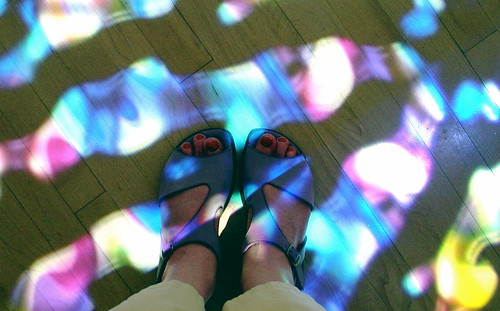 Light feet