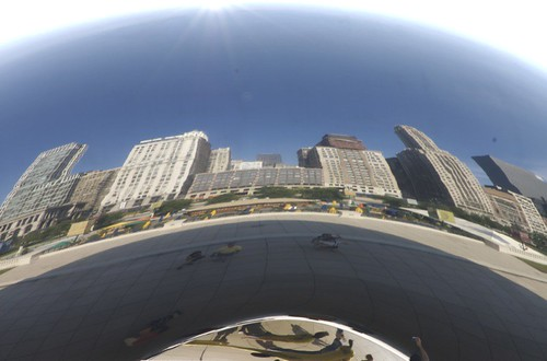 Chicago As Seen By The Bean