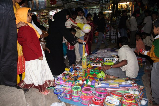 Shopping at Jayanagar