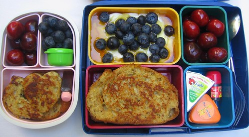 French toast: mother and son bentos
