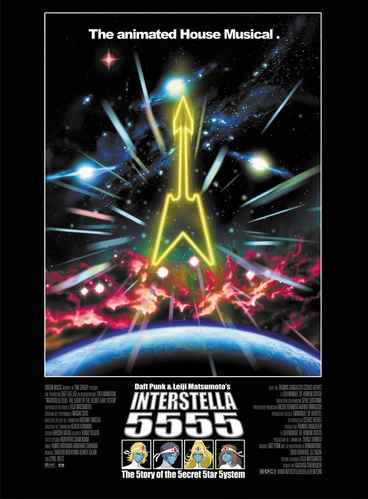 Interstella 5555 poster