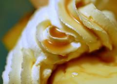 Caramel pudding parfait