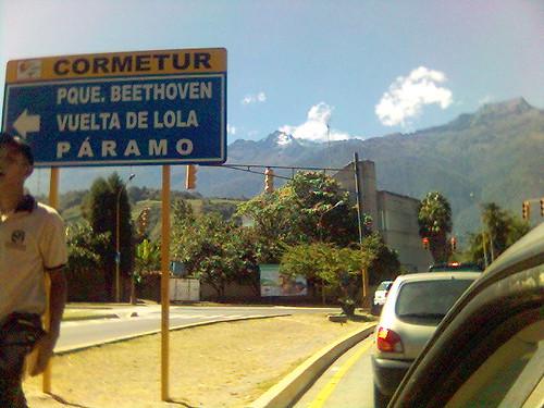 Carretera Mérida - Barinas.