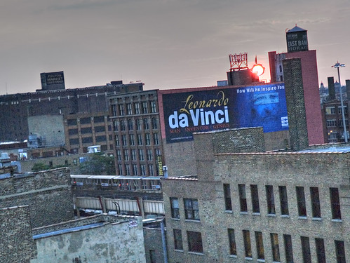 Sunset on DaVinci
