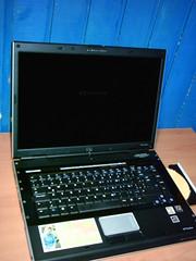 Pinky, mi nuevo laptop un HP Pavilion dv5120la