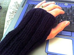 One-day wristwarmers