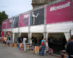 Edinburgh Festival Fringe e-ticket tent
