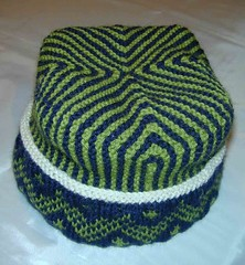 Four Corner Hat - Finished