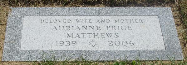 Marker - Adrianne Price Matthews