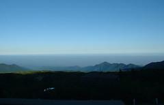 立山荘から見た富山平野