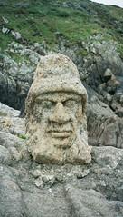 Rocher sculpté de Rotheneuf