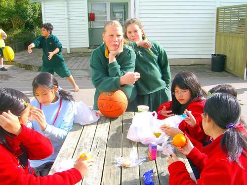 Rotorua中學各式人種皆有