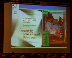 IFLA 2006 Closing Ceremony (Best Newsletter 2006)