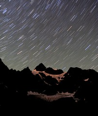 stars over mt. shuksan photo by Vida Morkunas (seawallrunner)
