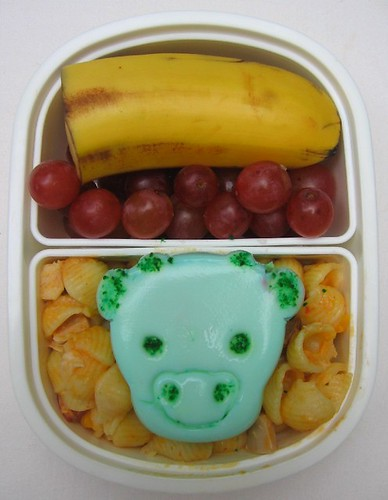 Cow egg lunch for toddler お弁当