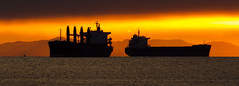 Vancouver Container Ships photo by w4nd3rl0st (InspiredinDesMoines)