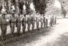 Génie- 1944 -  Naples: Cdt 1°Btn du G.D. TISSIER - Col. Mardochée Partouche
