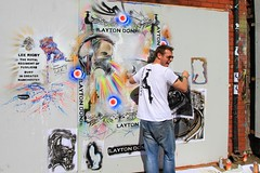 "2013 Upfest Bristol - Graffiti Artist Paul ""DON"" Smith - Layton Don - Artist at Work    {Explore - 26/07/2013 - Highest Position 32} photo by Andy_Hartley"