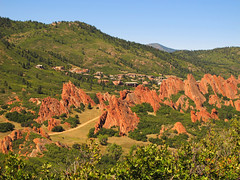 South Rim Trail at Roxborough State Park, Colorado photo by Batikart