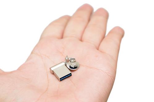 最迷你 USB 3.0 隨身碟 PQI i-mini 32GB @3C 達人廖阿輝