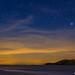 Ibiza - �ltimas luces, primeras estrellas, s'espart�, venus, arturo y la luz de la costa de levante