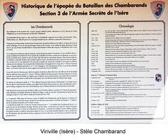 Viriville stèle chambarand - Fonds E. Gauthier