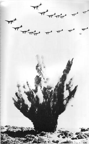 1942 Bir Hakeim - Un effet fracassant de la visite des aigles nazis