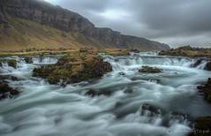 A Foss, South Iceland[Explored on 26 June 2013] photo by Wandering Tripod