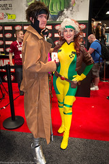 Gambit and Rogue photo by Doug Luberts