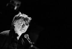 Spotlit portrait photo by Stephen Dowling