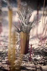Incense for mid-autumn festival... photo by Eric Flexyourhead (Onoharahigashi, Minoh-shi)
