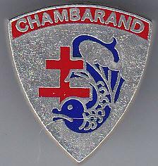 Insgne boutonnière Chambarand - - Col. Blandine Bongrand Saint Hillier