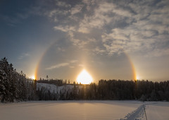 Sundogs photo by Svein Nordrum