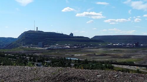 2013-0725 1146 Kiruna  vanaf Luossavaara