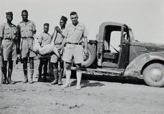 BM 2- 41 juil- Euphrate- chasse à la gazelle- adjudant FAURE - fonds Amiel