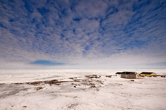 Where The Sky Meets The Sea Ice photo by Zircon_215