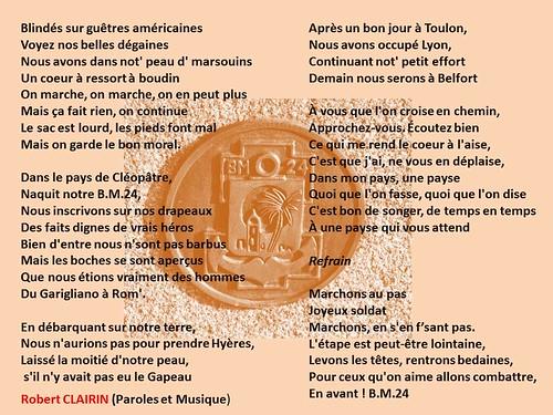 BM 24 chant de Robert Clairin (BM 24)