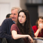 First rehearsal for THE MYSTERY OF LOVE & SEX at Writers Theatre. Photo by Joe Mazza—brave lux.