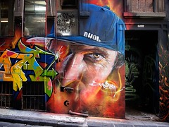Adnate - Hosier Lane photo by The BigBlueCat