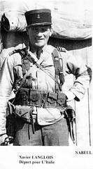 BM XI- 1944 avril - Tunisie Xavier Langlois