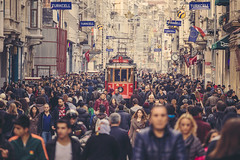 Istiklal Street photo by Oliver Astrologo