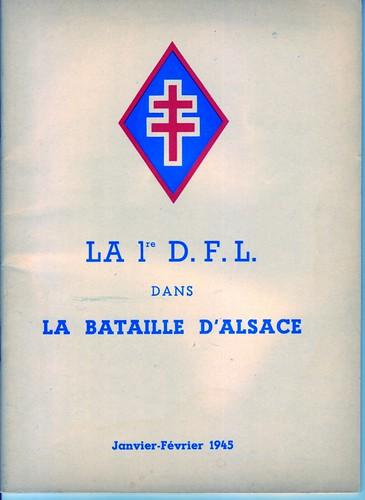 1945- Alsace- La 1ère dfl dans la campagne d'alsace