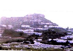 Tunisie- Le piton de Takrouna en 2009, 61 ans - Col. Françoise Basteau