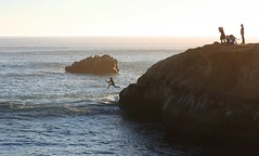 Leaping into the sea photo by Richard Masoner / Cyclelicious
