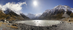 Lake Hooker Panoramaborder photo by Pommedan (DG Images)