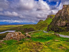 The Quiraing: an Alien Landscape photo by Bathsheba 1