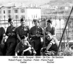 BM 4 Chambarand - 1945 Avril_Sospel_Fonds Emile Gauthier