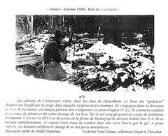 Alsace -  janvier 45 Huttenheim et Bois de la Lutter - Fonds Gérard Galland